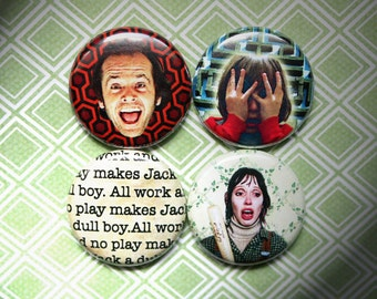 The Shining- One Inch Pinback Button Magnet Set