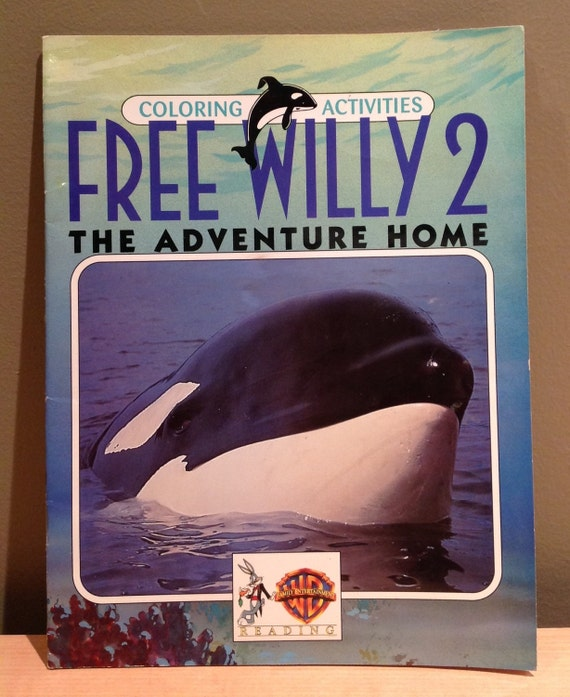 Items Similar To Vintage 1995 Free Willy 2 Quot The Adventure