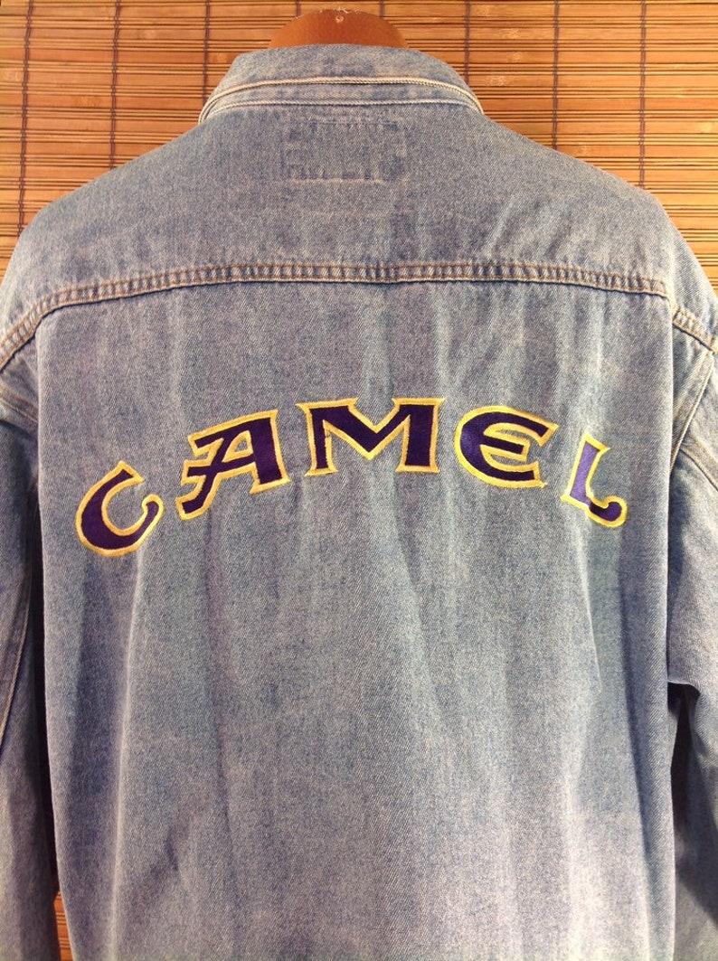 8da781a3e69 Vintage 1990s XL Camel Cigarettes Promotional Souvenir Jean