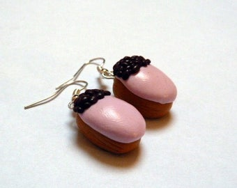 Boucles doreilles salambo bijoux gourmands fimo