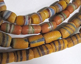 10 African Lampwork Glass Beads, Pick 10 of One or 5 of Each.