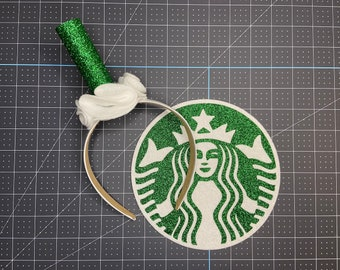 Starbucks straw headband / starbucks headband / starbucks costume / starbucks drink costume / starbucks straw headband / Starbucks straw /
