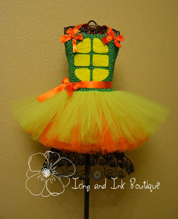 & Teenage Mutant Ninja Turtles Tutu Costume Custom Order ONLY