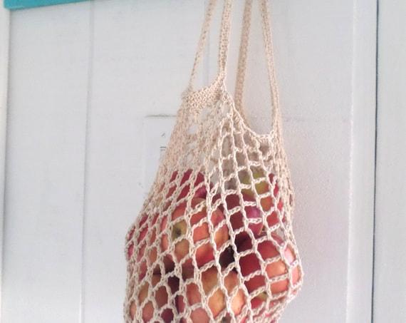Cotton Net Market Bag