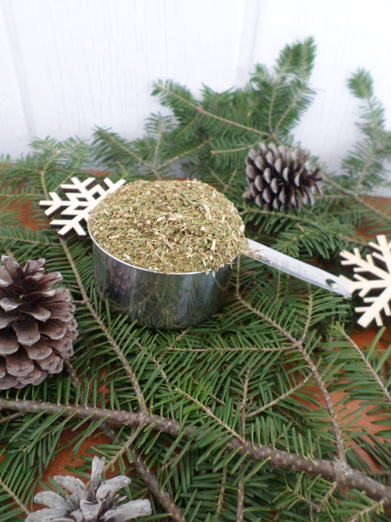 Maine Balsam Fir Potpourri, Dried Balsam, Loose Balsam Fir Potpourri, Made in Maine