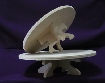 Cake stand, set with 2
