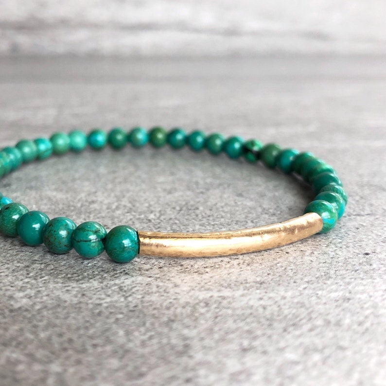 Genuine Turquoise Jewelry  Real Turquoise Bracelet with image 0