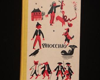 Vintage, 1955 Pinocchio by Carlo Collodi.