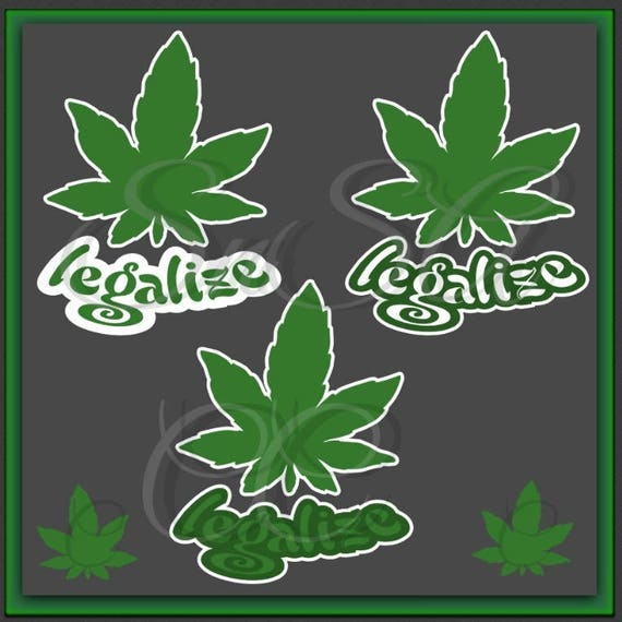 Marijuana Svg Weed Pot Leaf Hemp Medical Blaze Smoke Legalize Etsy