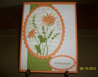 Bright and Cheery Thinking of You Card
