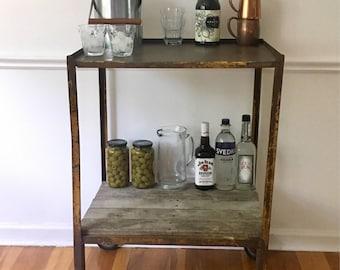 Vintage Bar Cart >> Bar Cart Vintage Etsy