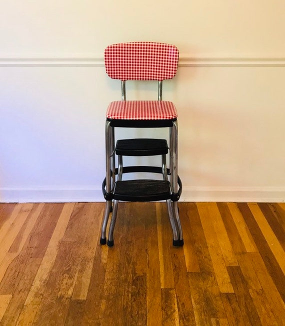 Incroyable Vintage Kitchen Step Stool