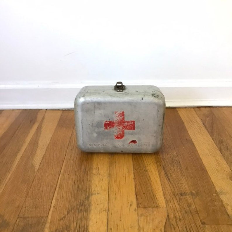 Vintage Hungarian Military First Aid Kit