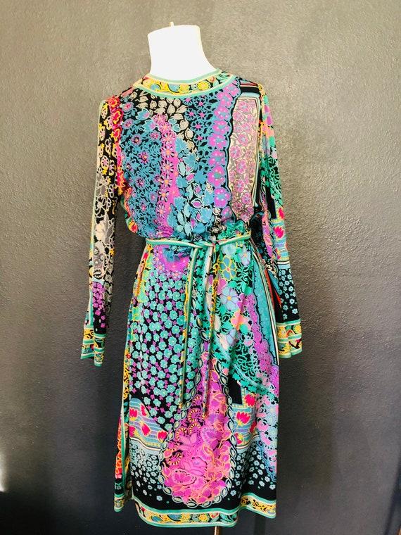 Leonard Studio Vintage Silk Dress