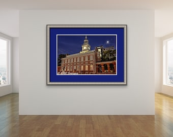 Philadelphia Prints, Philly Photos, Independence Hall, Declaration of Independence, Patriotic Art, Wall Art, Office Art, Fine Art Photos