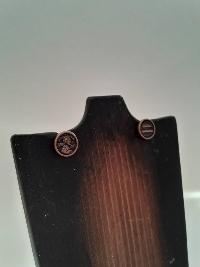 Stud Post Jewelry Faux Money Earrings Faux Penny Jewelry Nickel Free Two Sided United States Penny Stud Post Earrings