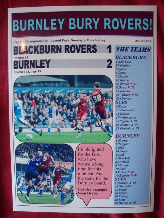 Blackburn promoted Doncaster Rovers 0 Blackburn Rovers 1-2018 framed print