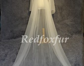Cathedral Wedding Bridal Veil tulle wedding veil, the veil simple trimming