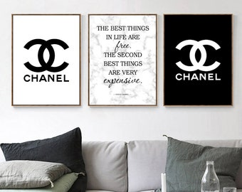 Chanel Home Decor Etsy