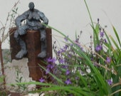 Scupture, Bronze, abstract, girl, 1of7,  Modern Art, free shiping, also for outside, contemporary art,