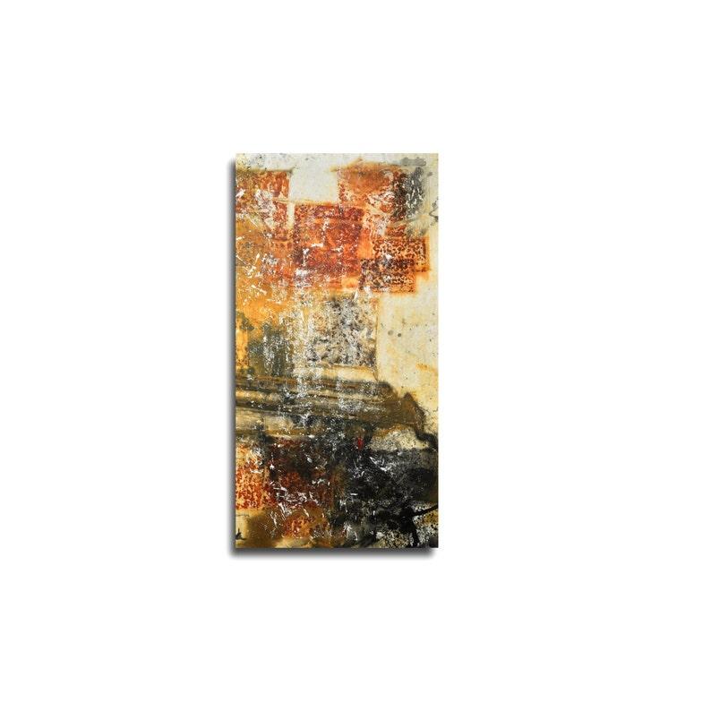 xxl modern wallart abstract korrossion rusty autumn colors image 0
