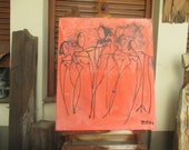 girls are singing Canvas / Drawing
