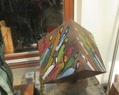 rusti cube Sculptur Modern Art contemporary art,