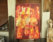 Vino - Bottles Original Oil / Canvas / Drawing xl- 39,37 inch free shiping