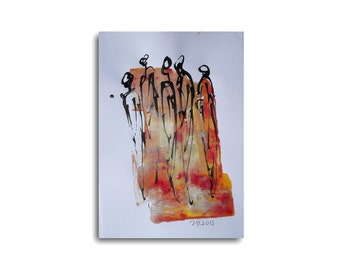 Dance - Drawing 8,3 x 11,7 inch