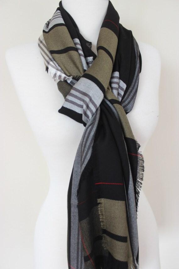Foulards pour homme tissu en mélange Cachemire longue soie   Etsy c85a087fcda