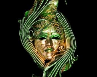 Venetian Mask Viridis