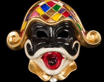 Venetian Mask Ceramic Harlequin