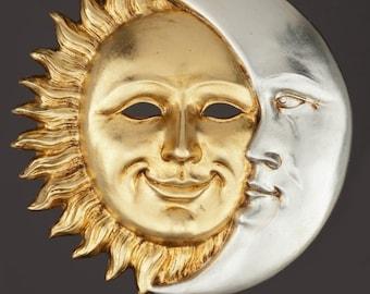 Venetian Mask Sol et Luna