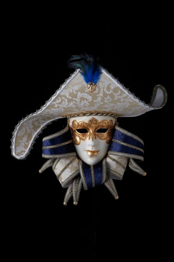 Italy! Venetian Mask Alea Jolly Made In Venice