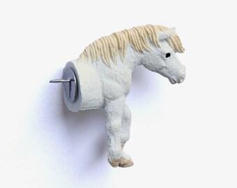 """Pushpin """"White horse C"""""""