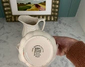 Set of 3 Royal Crownford Ironstone quot Wheat quot Pitcher