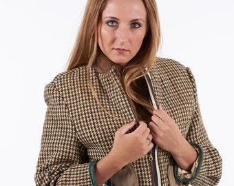 Reworked Harris Tweed Dogtooth Jacket 12 - www.brickvintage.com