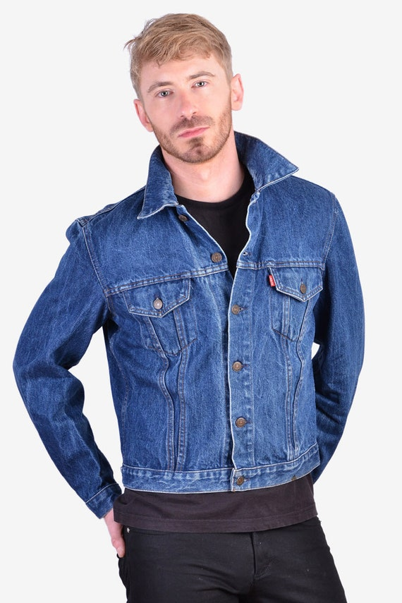 Vintage 1970's Levi's Blue Denim Jacket | Size XS