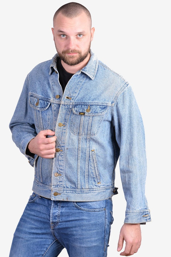 Vintage 1970's Lee Storm Riders Denim Jacket | Siz