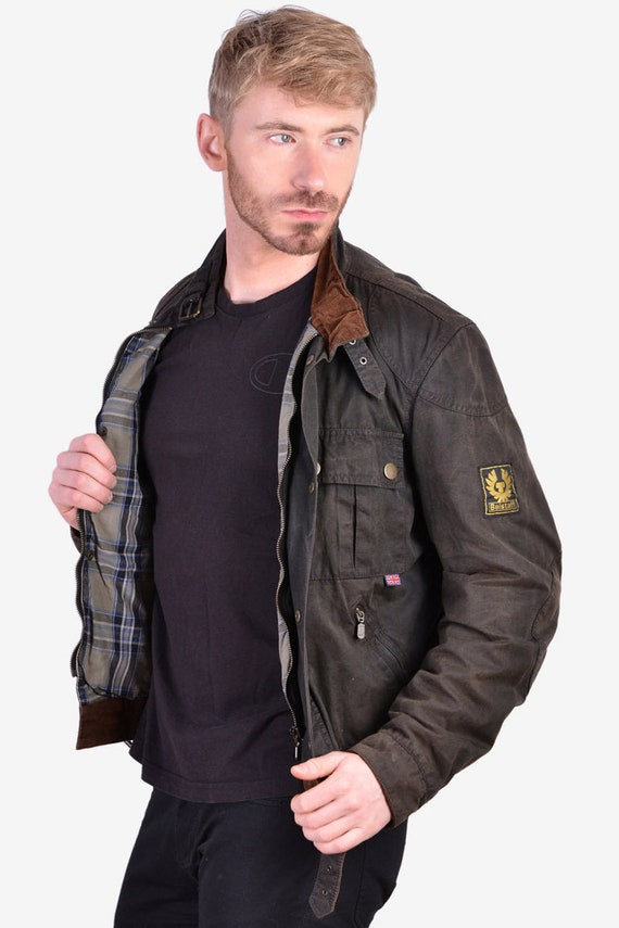 Vintage Belstaff Gold Label Wax Jacket | Size S -