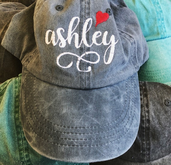 902e289cd Personalized Name Embroidered Hat