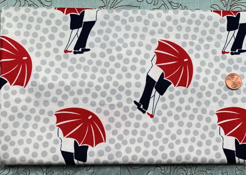 One Yard  Dear Stella  Umbrella Couple  Stella 82 image 0