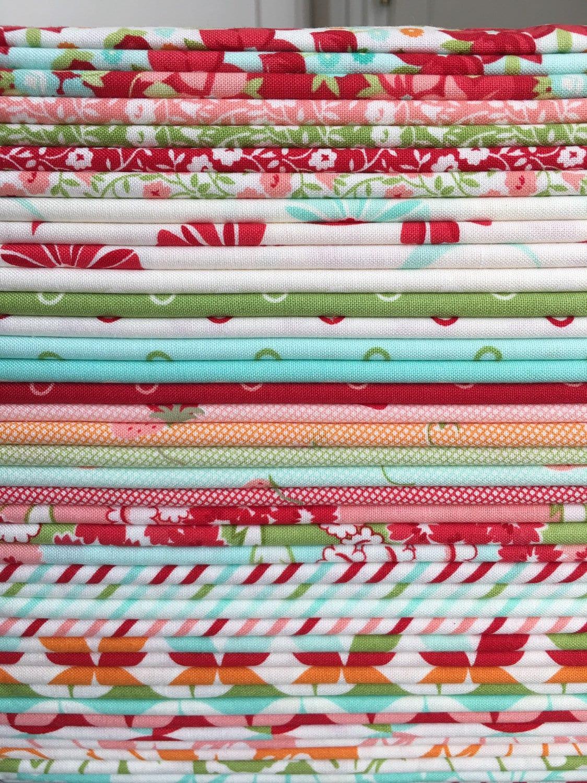 Bonjour chéri par Bonnie et Camille pour Moda Fabrics Fabrics Fabrics - demi verge Bundle 4ce340