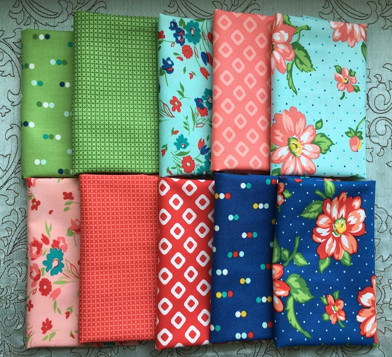 Dixie by Allison Harris for Windham Fabrics  10 Fat Eighth image 0