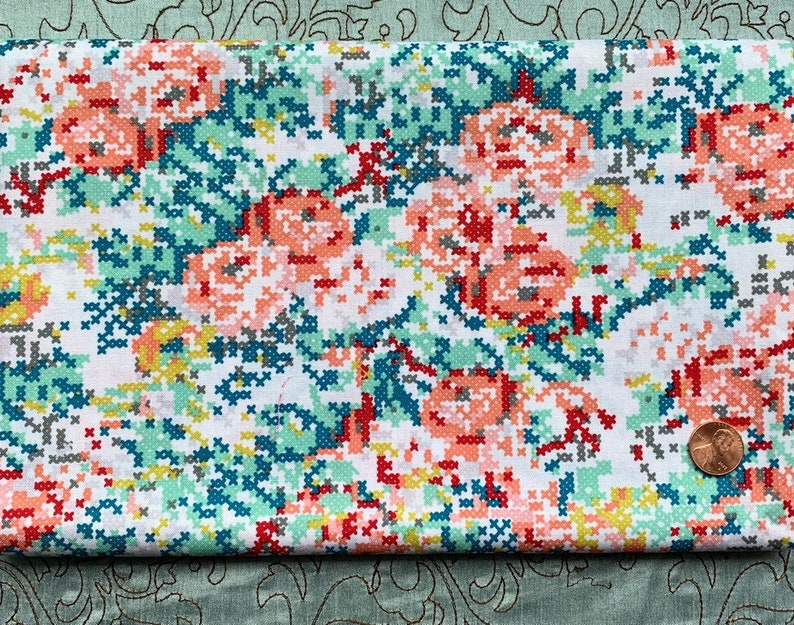 One Yard  Hipster by Shannon Lamden for Riley Blake  Floral image 0