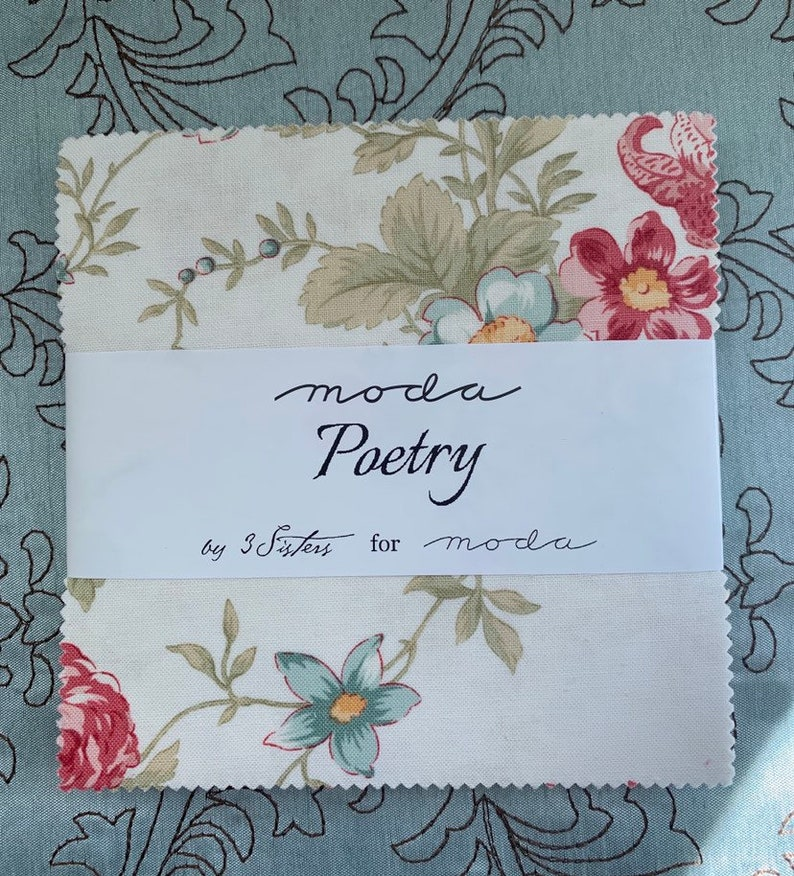 Poetry by 3 Sisters for Moda Fabrics  Charm Pack image 0