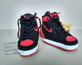 02269f451070 AIR JORDAN 1 Baby Booties