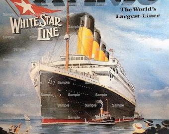 Titanic Cake Topper