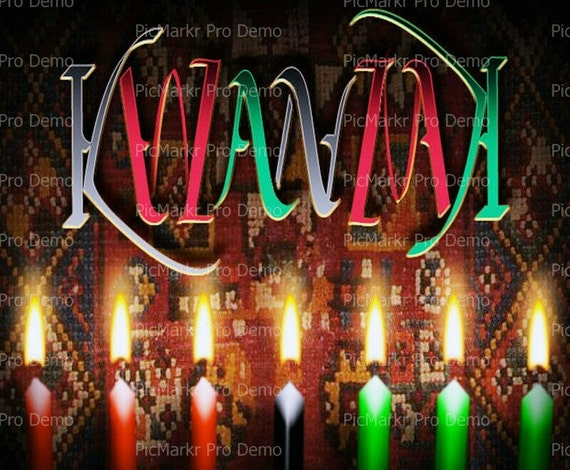 Kwanzaa - Edible Cake and Cupcake Topper For Birthday's and Parties! - D9342