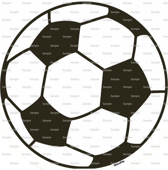 Soccer Ball - Edible Cake and Cupcake Topper For Birthday's and Parties! - D875